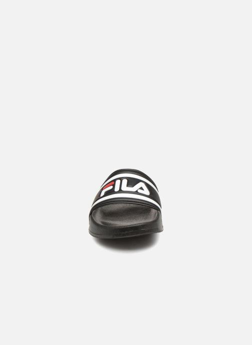 Sandales et nu-pieds FILA Morro Bay Slipper 2 Noir vue portées chaussures