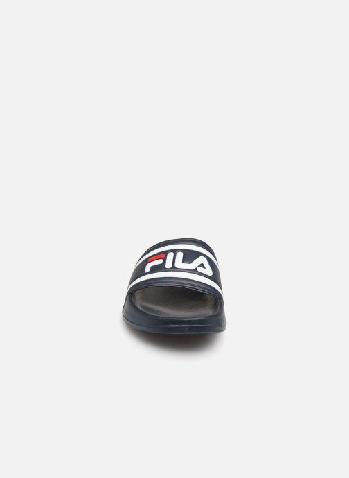 Sandales et nu-pieds FILA Morro Bay Slipper 2 Bleu vue portées chaussures