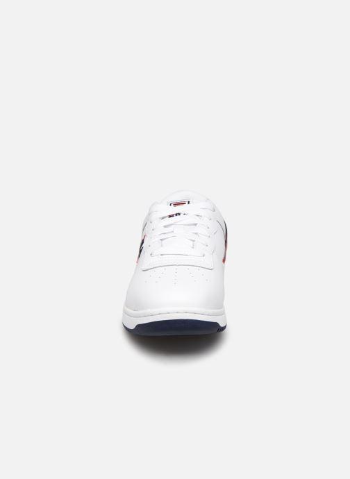 Baskets FILA Original Fitness Blanc vue portées chaussures
