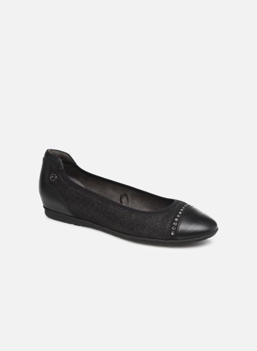 Ballet pumps Tamaris LOLA Black detailed view/ Pair view