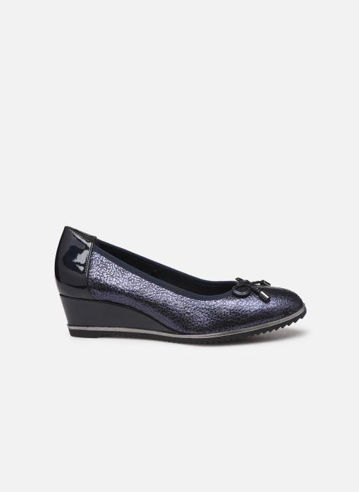 High heels Tamaris ISAL Blue back view
