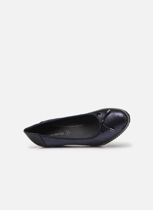 High heels Tamaris ISAL Blue view from the left