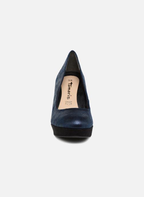 Escarpins Tamaris JUNE Bleu vue portées chaussures
