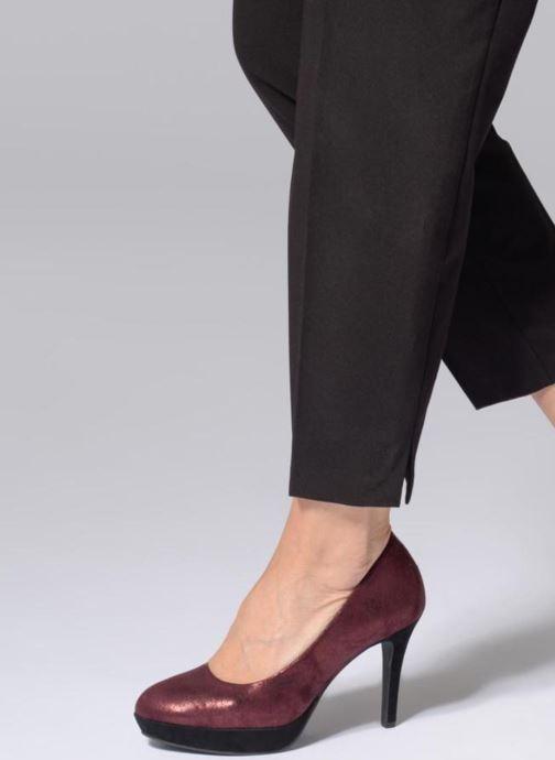 Zapatos de tacón Tamaris JUNE Vino vista de abajo