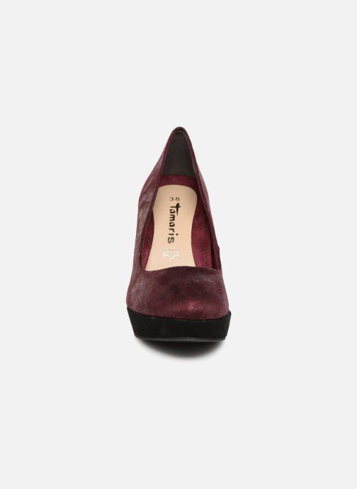Escarpins Tamaris JUNE Bordeaux vue portées chaussures