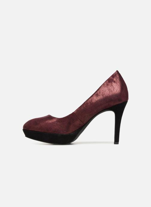 Zapatos de tacón Tamaris JUNE Vino vista de frente