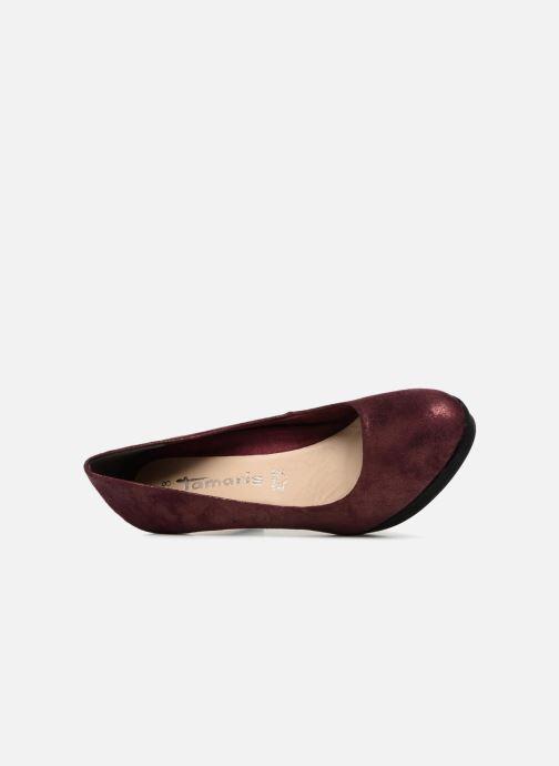 Zapatos de tacón Tamaris JUNE Vino vista lateral izquierda