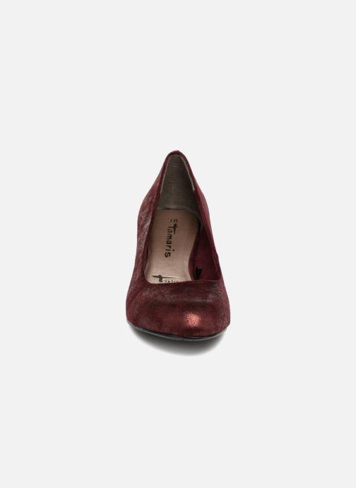 Escarpins Tamaris BARRI Bordeaux vue portées chaussures