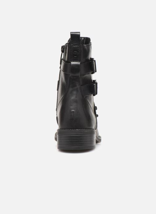 Boots en enkellaarsjes Tamaris FIONA Zwart rechts