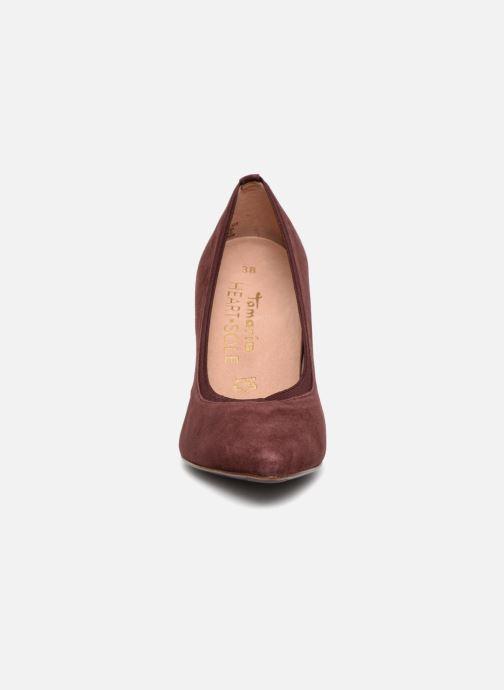 Escarpins Tamaris IRMA Bordeaux vue portées chaussures