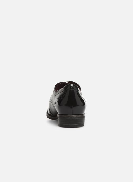 Lace-up shoes Tamaris ATHENA Black view from the right