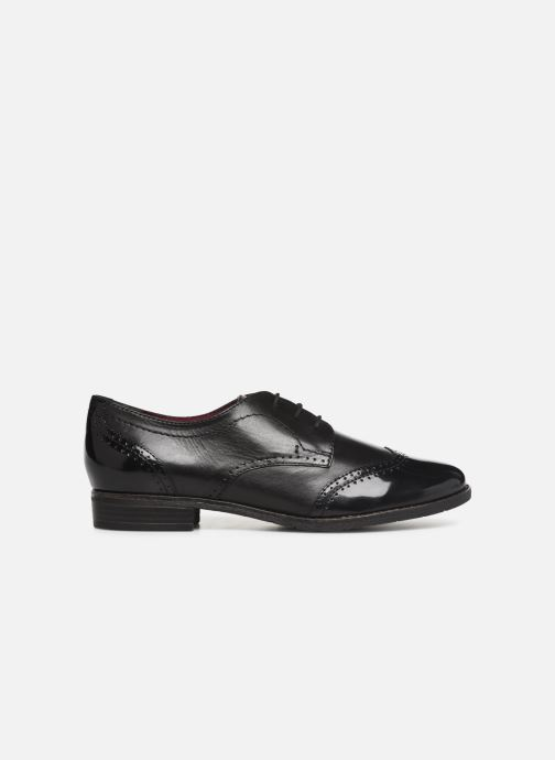 Lace-up shoes Tamaris ATHENA Black back view