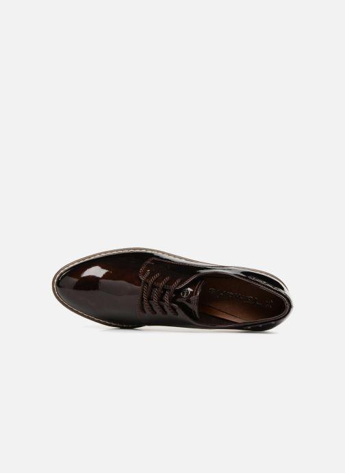 Chaussures à lacets Tamaris RITA Marron vue gauche