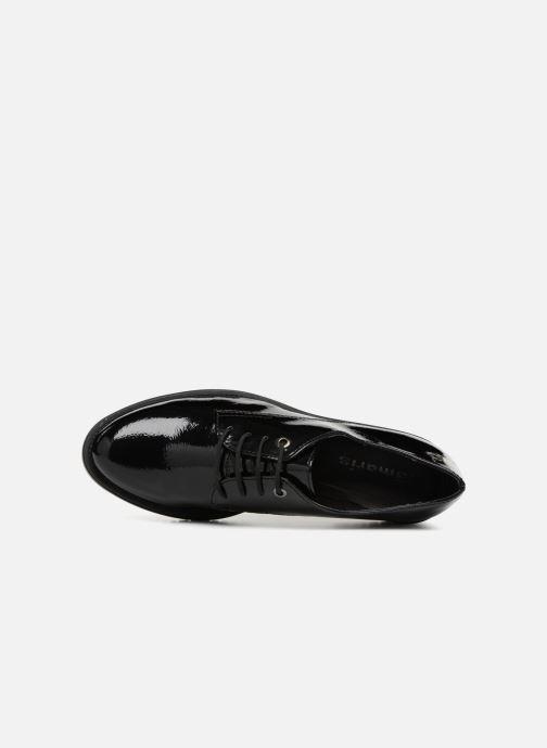 Zapatos con cordones Tamaris NUNA Negro vista lateral izquierda