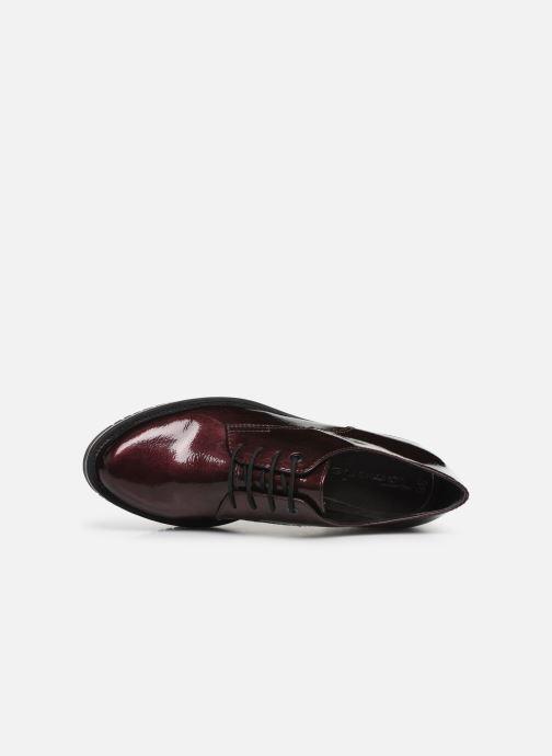 Chaussures à lacets Tamaris NUNA Bordeaux vue gauche