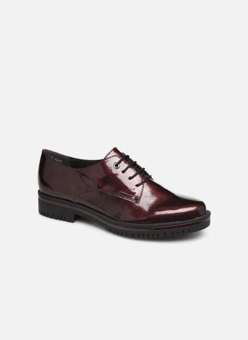 Chaussures à lacets Tamaris NUNA Bordeaux vue détail/paire