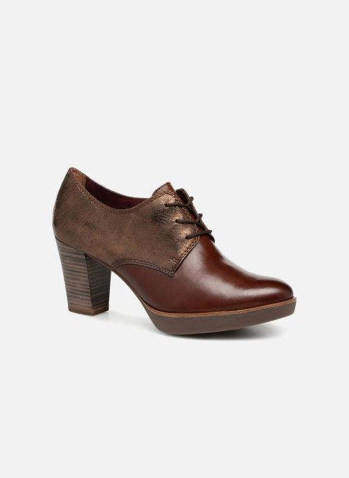 Tamaris NAMU (Brown) - Lace-up shoes chez Sarenza (341640) 33bbd1099aa2