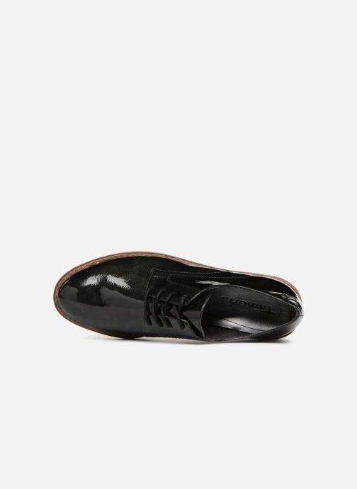 Scarpe con lacci Tamaris MANAUS Nero immagine sinistra