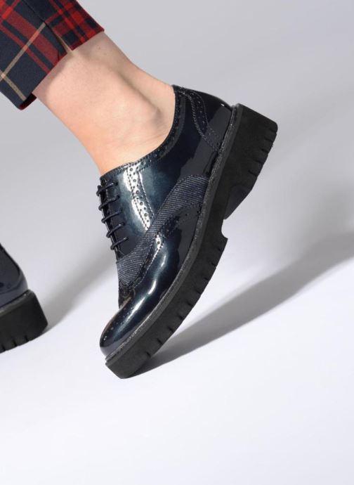 Scarpe con lacci Tamaris RABA Azzurro immagine dal basso