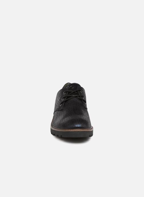 Chaussures à lacets Tamaris MOCCA Bleu vue portées chaussures