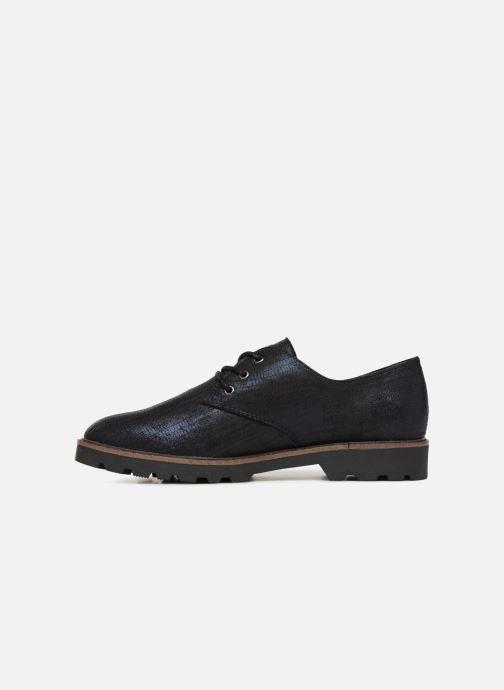 Chaussures à lacets Tamaris MOCCA Bleu vue face