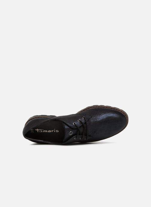 Chaussures à lacets Tamaris MOCCA Bleu vue gauche