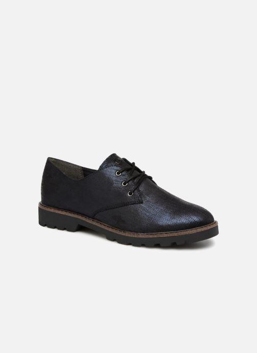 Chaussures à lacets Tamaris MOCCA Bleu vue détail/paire