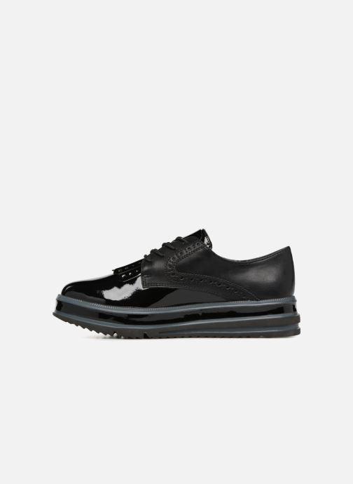 Tamaris Chaussures à Lacets Noir Femmes 5.00 cm Leather
