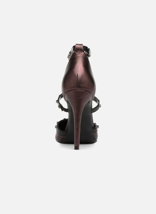 Sandales et nu-pieds Tamaris CLOU Bordeaux vue droite
