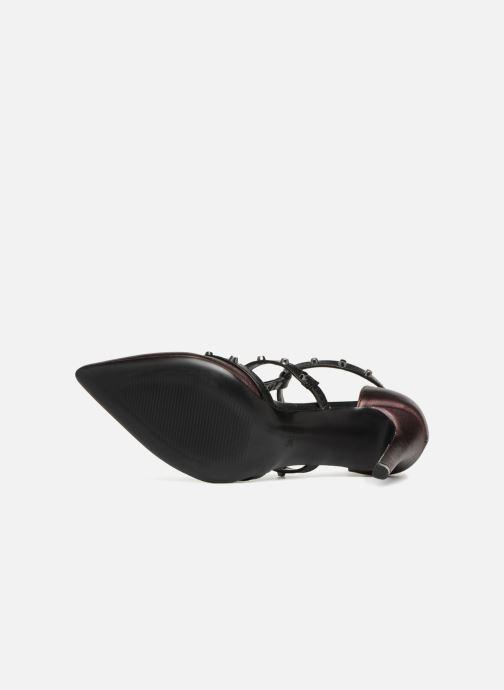 Sandales et nu-pieds Tamaris CLOU Bordeaux vue haut