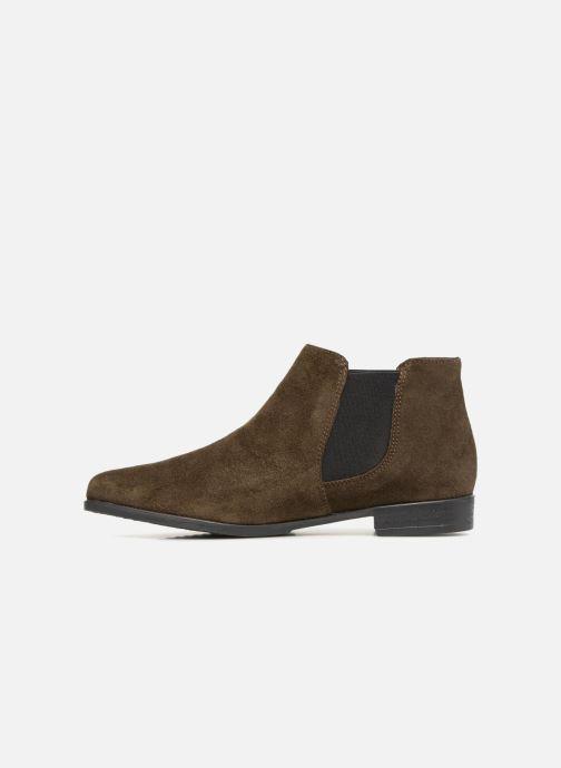 Bottines et boots Tamaris SYLLA Vert vue face