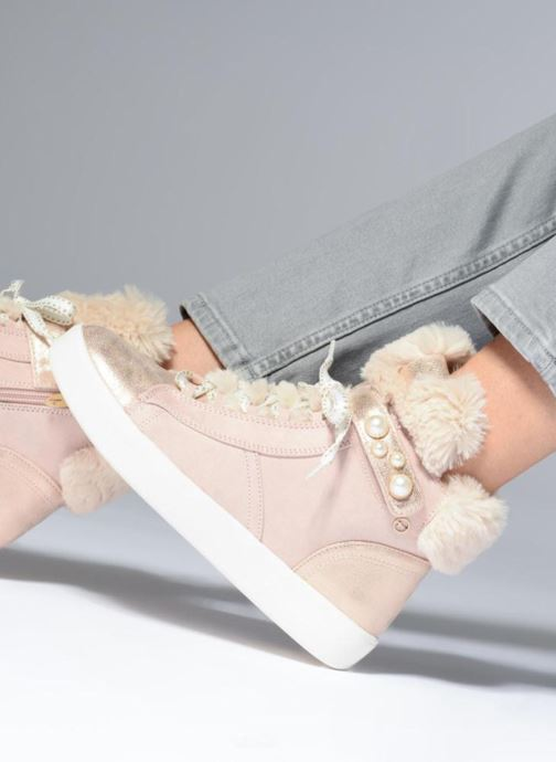 Trainers Tamaris LIA Pink view from underneath / model view