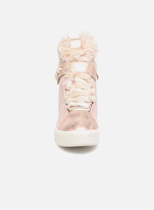 Baskets Tamaris LIA Rose vue portées chaussures