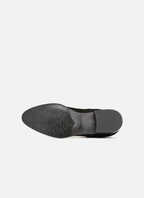 Bottines et boots Tamaris YEL Noir vue haut