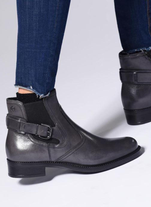 Bottines et boots Tamaris DINE Noir vue bas / vue portée sac