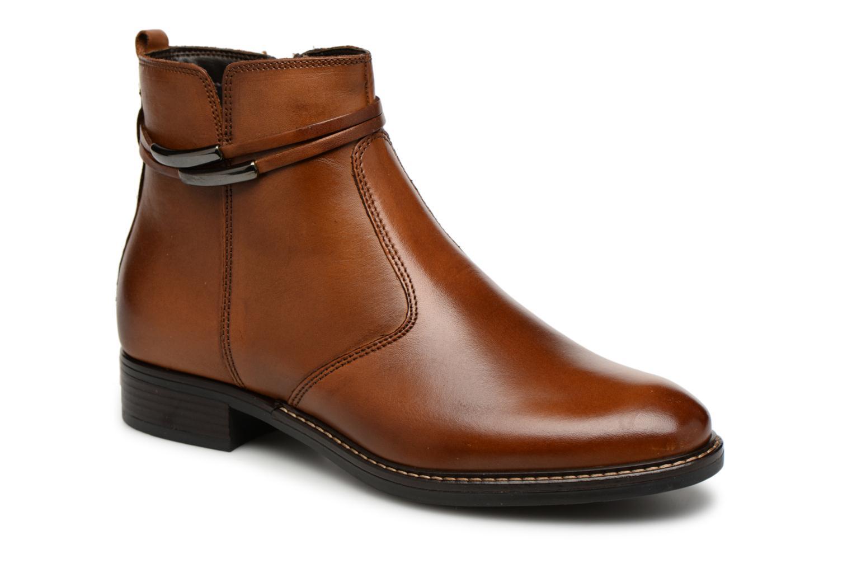 Bottines et boots Tamaris ZOZ Marron vue détail/paire