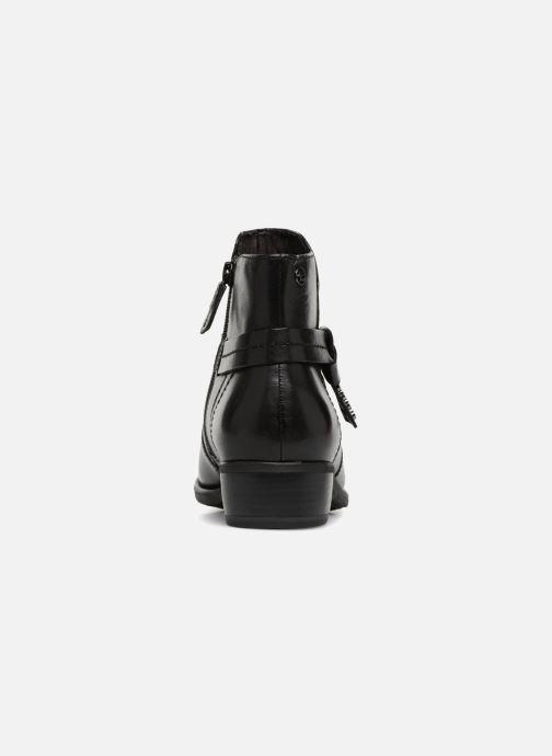 Boots en enkellaarsjes Tamaris CARDI Zwart rechts