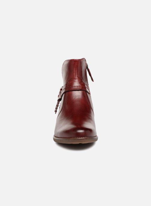 Bottines et boots Tamaris CARDI Bordeaux vue portées chaussures