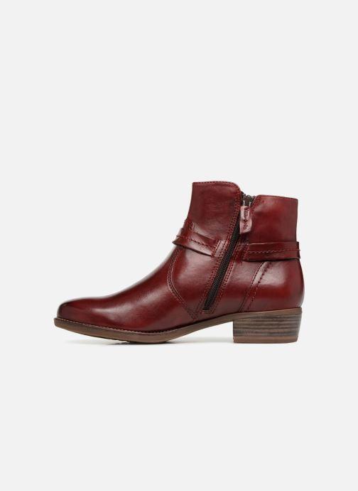 Bottines et boots Tamaris CARDI Bordeaux vue face