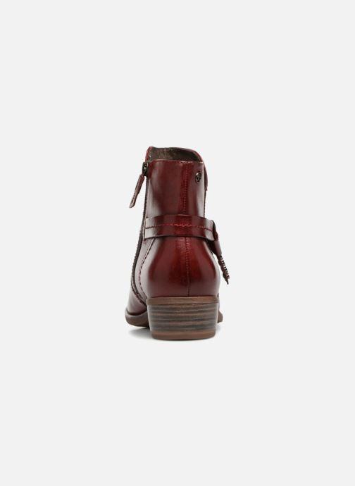 Bottines et boots Tamaris CARDI Bordeaux vue droite