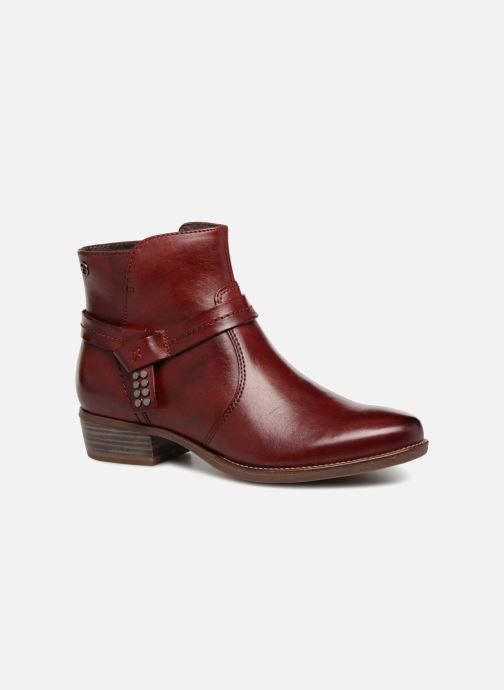 Bottines et boots Tamaris CARDI Bordeaux vue détail/paire