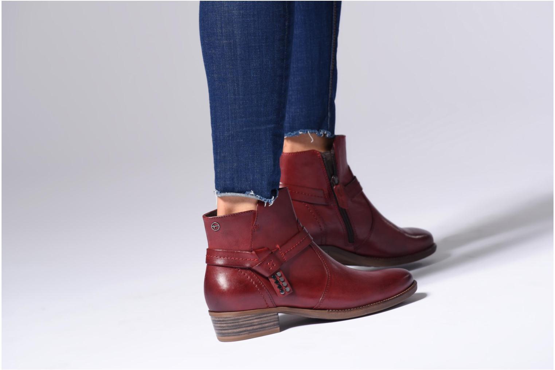 Bottines et boots Tamaris CARDI Noir vue bas / vue portée sac