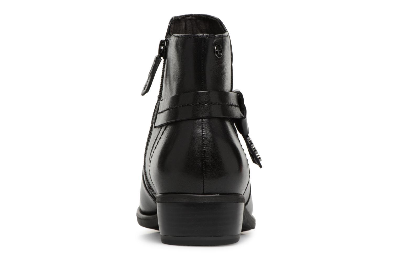 Bottines et boots Tamaris CARDI Noir vue droite