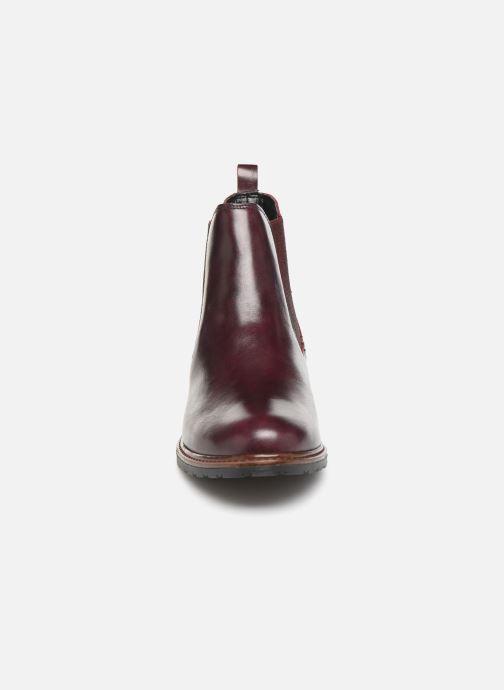Bottines et boots Tamaris OCCI Bordeaux vue portées chaussures