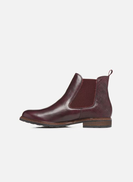Ankle boots Tamaris OCCI Burgundy front view
