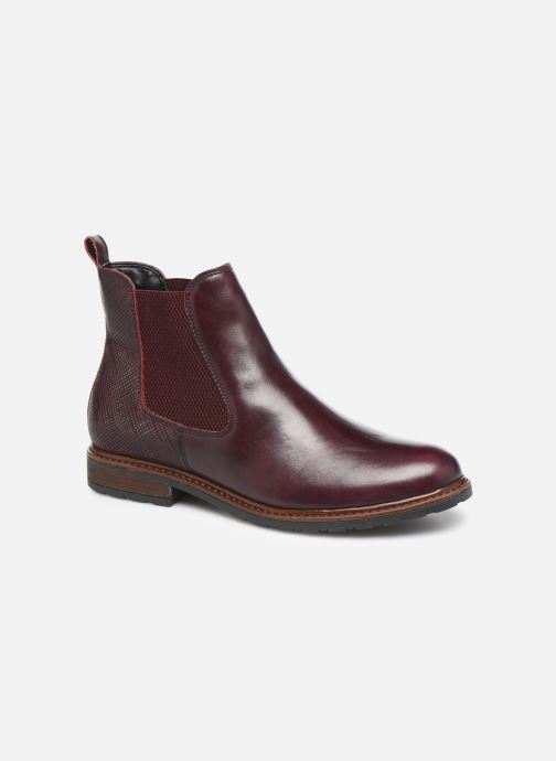 Ankle boots Tamaris OCCI Burgundy detailed view/ Pair view