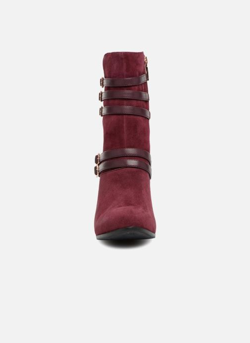 Bottines et boots Tamaris TALI Bordeaux vue portées chaussures