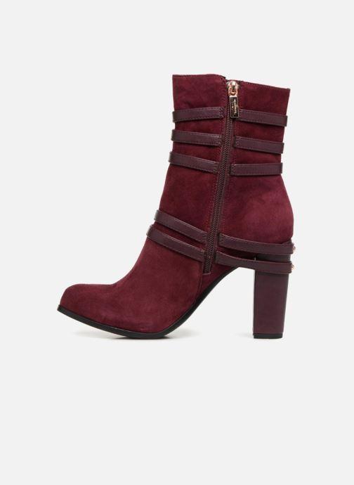 Bottines et boots Tamaris TALI Bordeaux vue face