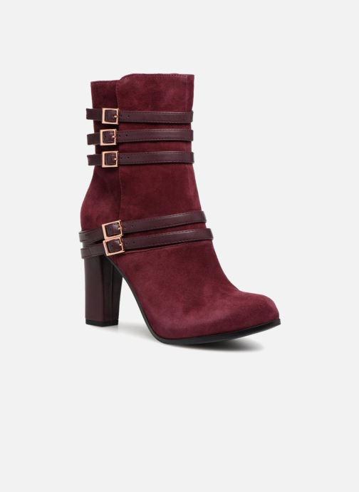 Bottines et boots Tamaris TALI Bordeaux vue détail/paire