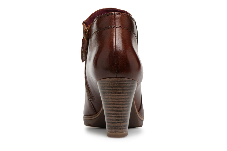 Boots en enkellaarsjes Tamaris KATTY Bruin rechts